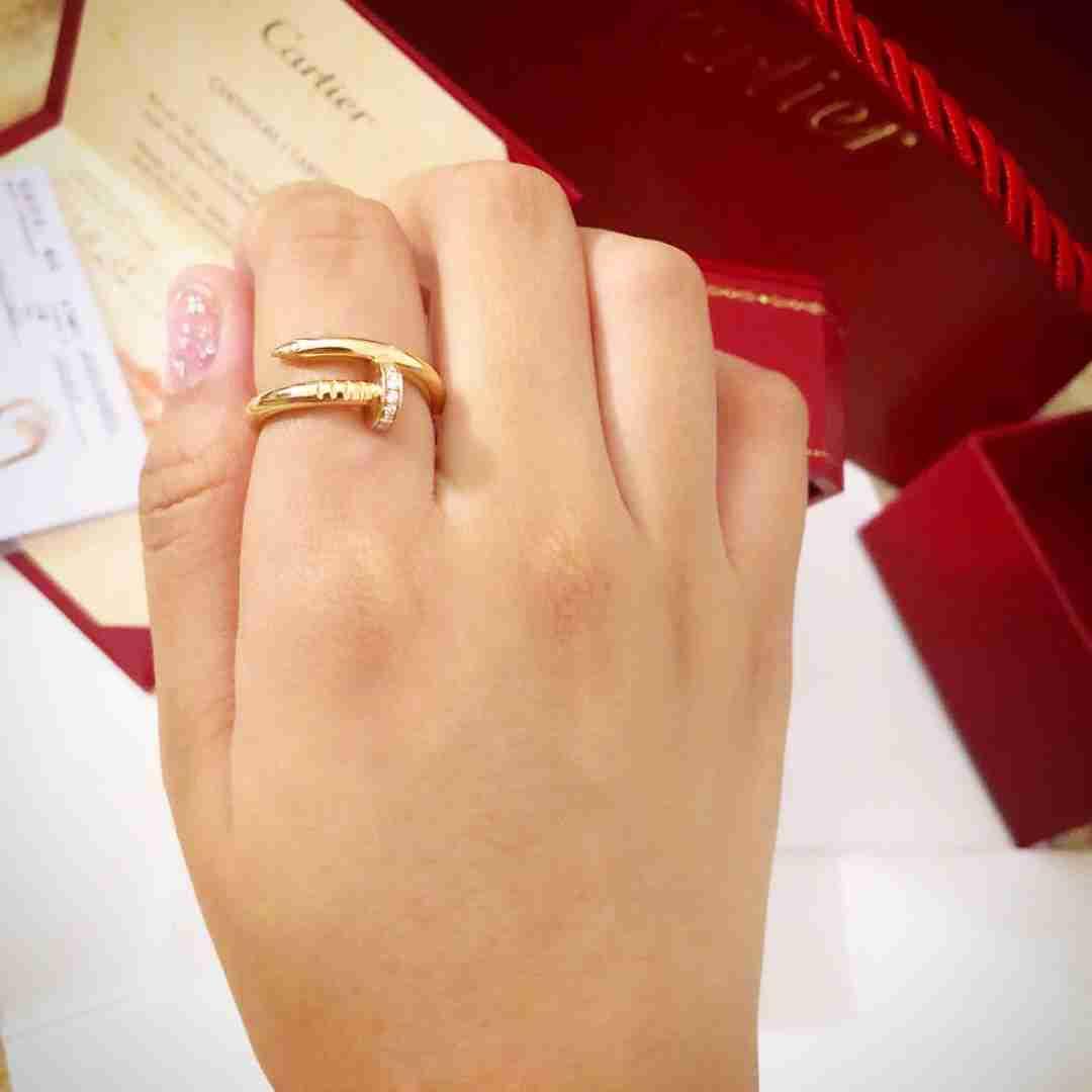 Cartier nail ring