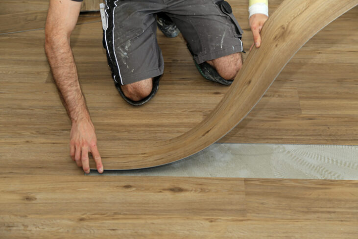 Install Luxury Vinyl Plank Flooring, How Much Does Vinyl Plank Flooring Cost